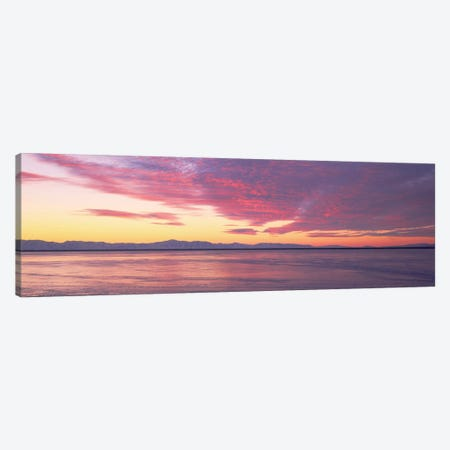 Willard Bay, Box Elder County, Utah Canvas Print #PIM14088} by Panoramic Images Canvas Print