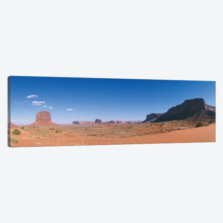 Monument Valley Navajo Tribal Park Canvas Print #PIM14089} by Panoramic Images Art Print
