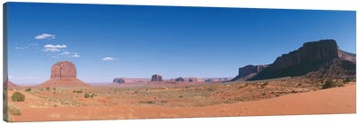 Monument Valley Navajo Tribal Park Canvas Art Print