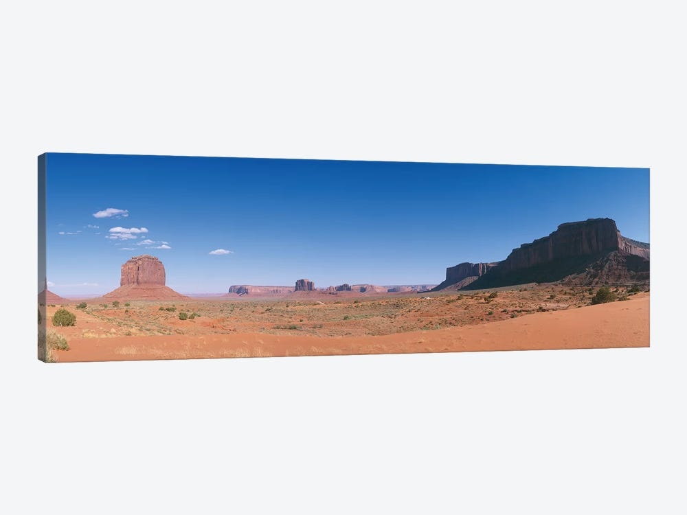 Monument Valley Navajo Tribal Park by Panoramic Images 1-piece Canvas Art Print