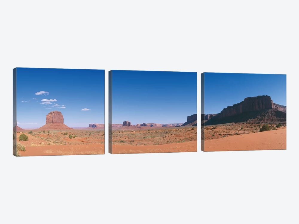 Monument Valley Navajo Tribal Park by Panoramic Images 3-piece Art Print