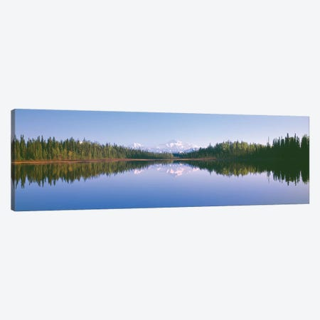 Denali (Mt. McKinley), Alaska Range, Denali National Park and Preserve, Alaska, USA Canvas Print #PIM14090} by Panoramic Images Canvas Art
