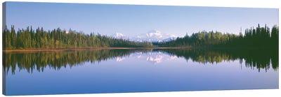 Denali (Mt. McKinley), Alaska Range, Denali National Park and Preserve, Alaska, USA Canvas Print #PIM14090