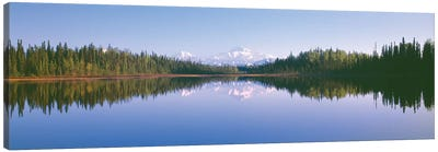 Denali (Mt. McKinley), Alaska Range, Denali National Park and Preserve, Alaska, USA Canvas Art Print