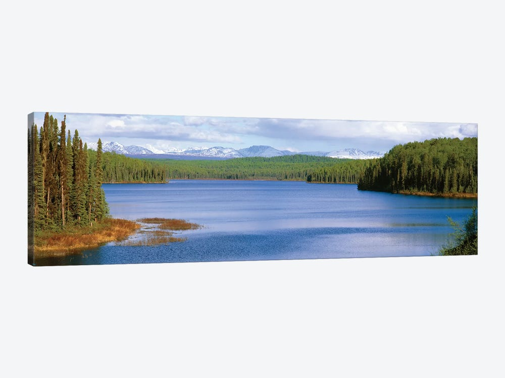 Talkeetna Lake, Matanuska-Susitna Borough, Alaska, USA by Panoramic Images 1-piece Canvas Wall Art