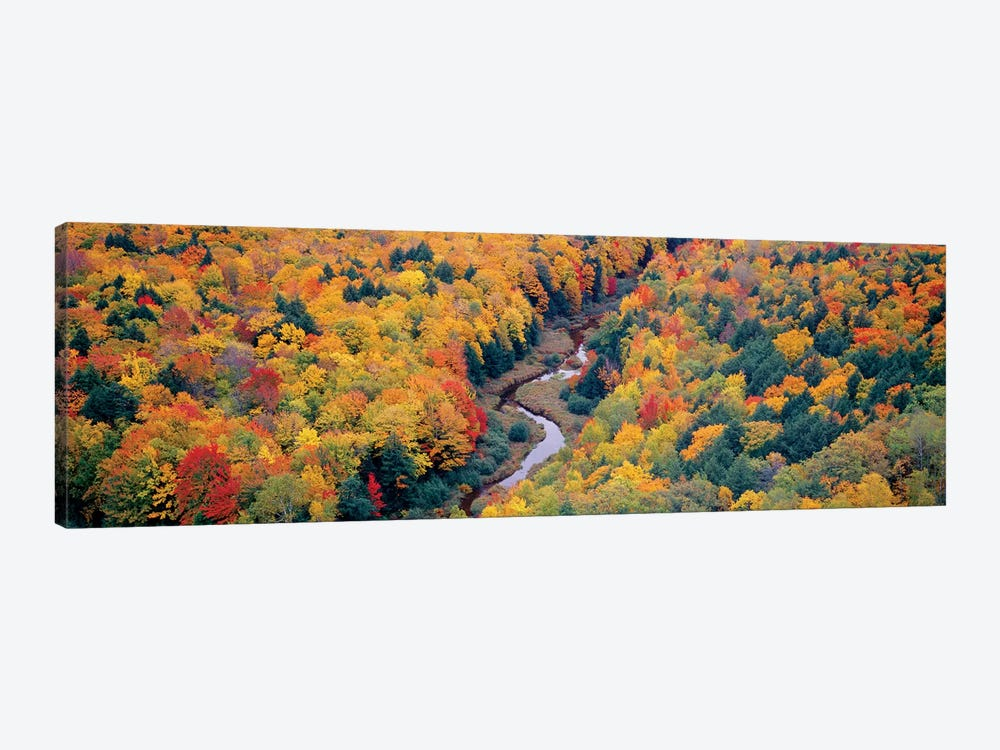 Autumn Landscape I, Porcupine Mountains Wilderness State Park, Upper Peninsula, Michigan, USA by Panoramic Images 1-piece Art Print