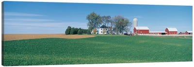 Countryside Landscape, Clayton County, Iowa, USA Canvas Art Print