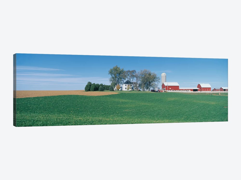 Countryside Landscape, Clayton County, Iowa, USA by Panoramic Images 1-piece Canvas Print