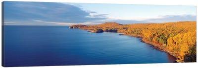 Split Rock Lighthouse State Park, North Shore of Lake Superior, Lake County, Minnesota, USA Canvas Art Print