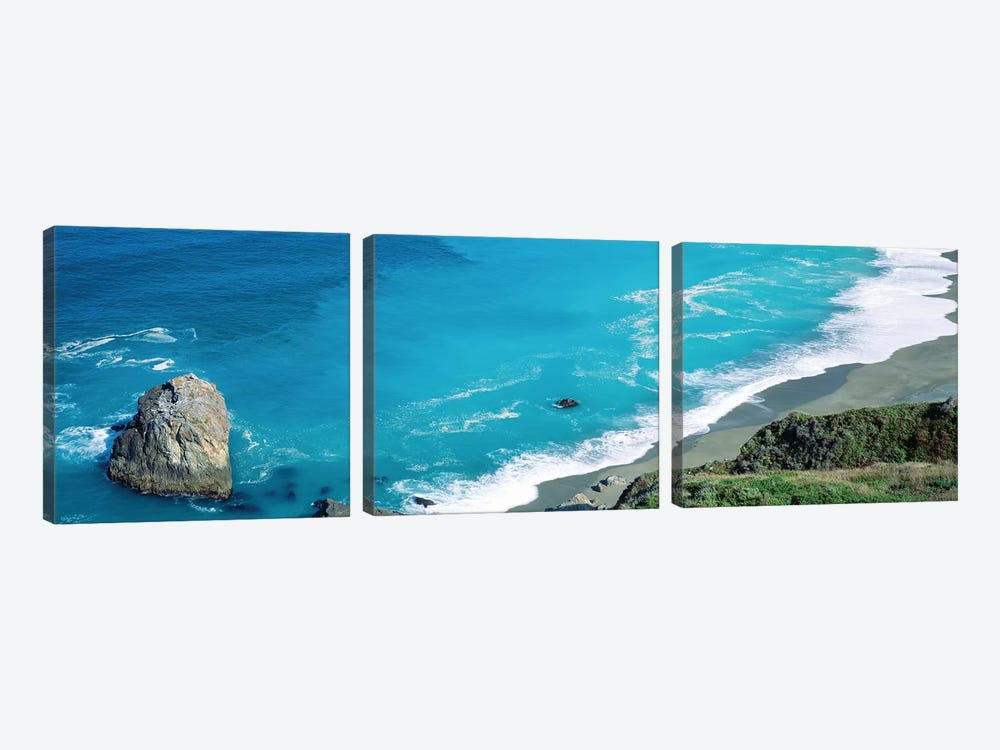 Turquoise Waters of the Pacific Ocean I by Panoramic Images 3-piece Canvas Artwork