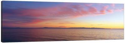 Seascape at Sunset, Pacific Ocean Canvas Print #PIM14115