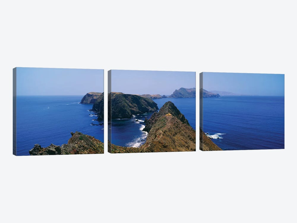 Anacapa Island, Channel Islands National Park, Ventura County, California, USA by Panoramic Images 3-piece Canvas Artwork
