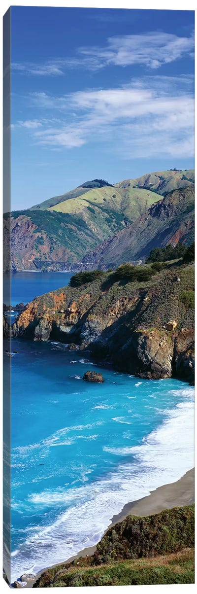 Coastal Landscape, California Canvas Art Print