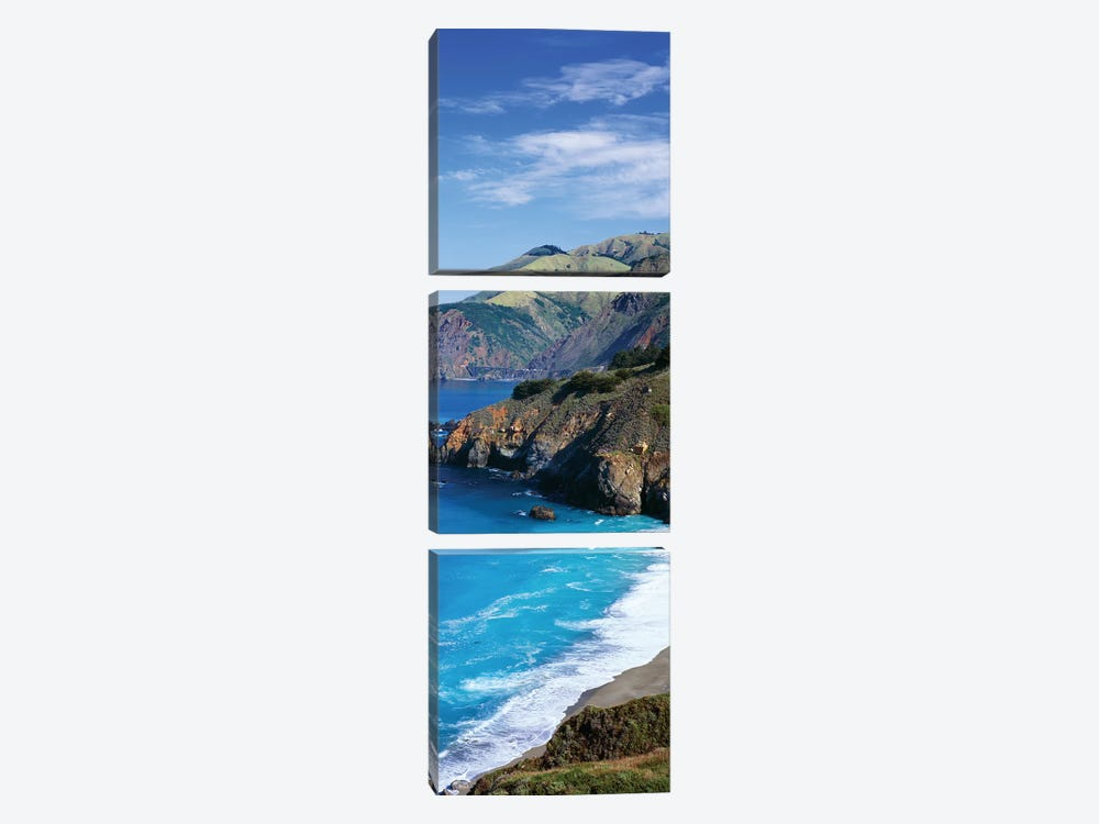 Coastal Landscape, California by Panoramic Images 3-piece Canvas Art Print