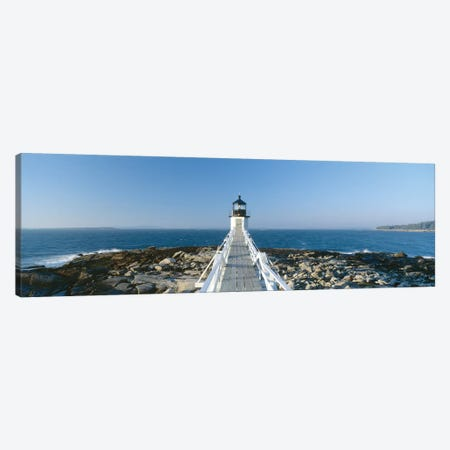 Marshall Point Lighthouse, Port Clyde, St. George, Knox County, Maine, USA Canvas Print #PIM14120} by Panoramic Images Canvas Wall Art