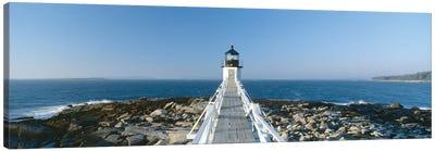 Marshall Point Lighthouse, Port Clyde, St. George, Knox County, Maine, USA Canvas Art Print