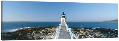 Marshall Point Lighthouse, Port Clyde, St. George, Knox County, Maine, USA Canvas Art Print