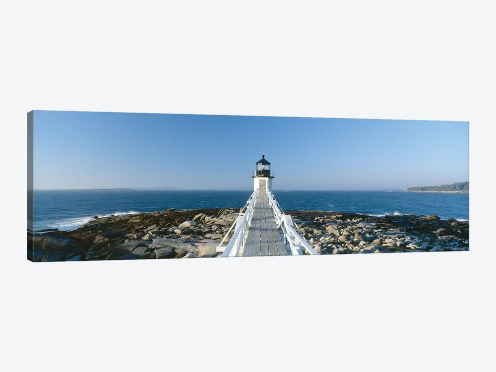Marshall Point Lighthouse, Port Clyde, St. George, Knox County, Maine, USA by Panoramic Images 1-piece Canvas Print