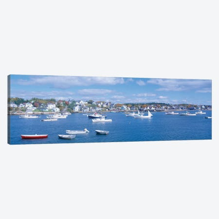 Harbor View, Stonington, Hancock County, Maine, USA Canvas Print #PIM14121} by Panoramic Images Canvas Wall Art