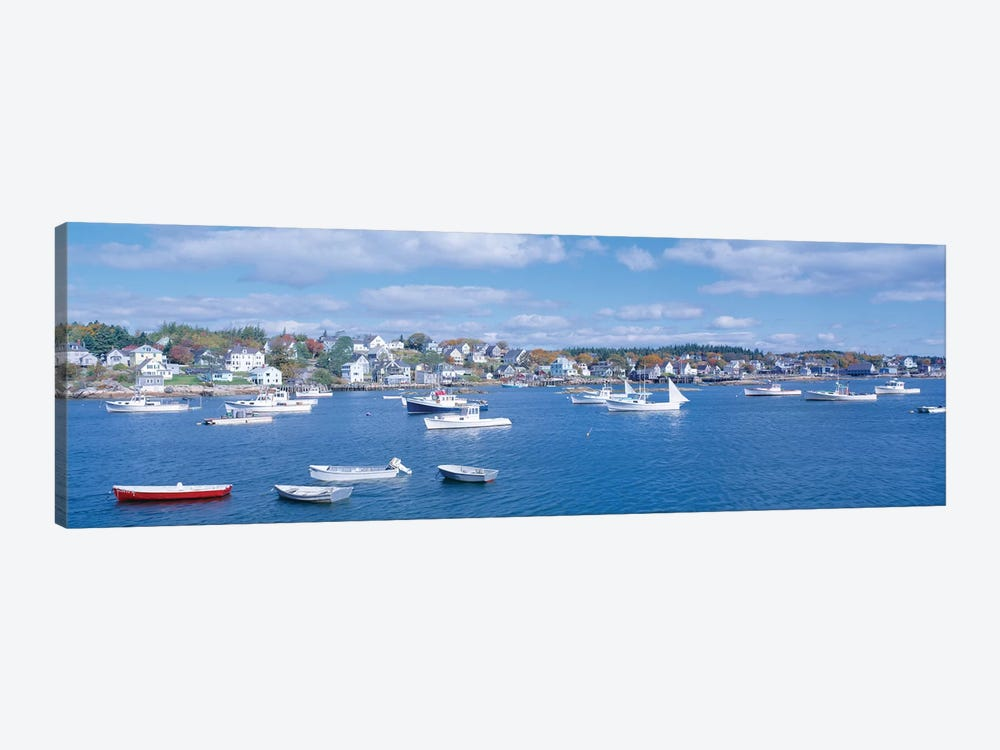 Harbor View, Stonington, Hancock County, Maine, USA by Panoramic Images 1-piece Canvas Art
