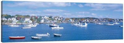 Harbor View, Stonington, Hancock County, Maine, USA Canvas Art Print