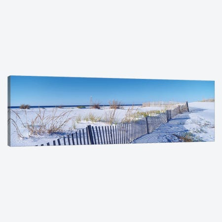 Seashore Landscape, Santa Rosa Island, Florida, USA Canvas Print #PIM14122} by Panoramic Images Canvas Art