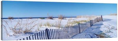 Seashore Landscape, Santa Rosa Island, Florida, USA Canvas Art Print