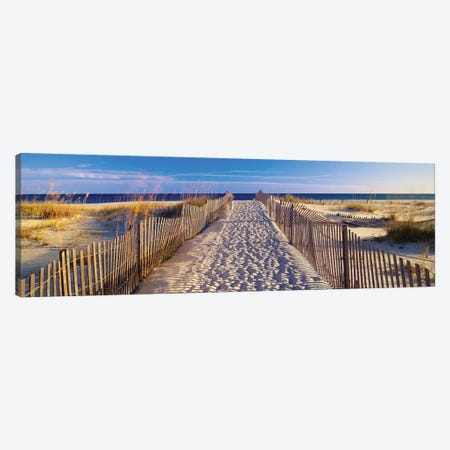 Beach Pathway, Santa Rosa Island, Florida, USA Canvas Print #PIM14124} by Panoramic Images Canvas Print