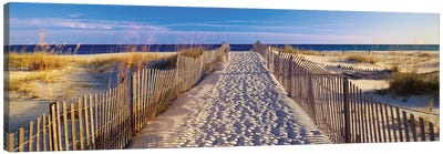 Beach Pathway, Santa Rosa Island, Florida, USA Canvas Art Print
