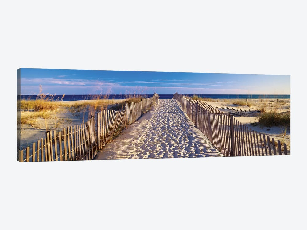 Beach Pathway, Santa Rosa Island, Florida, USA 1-piece Art Print