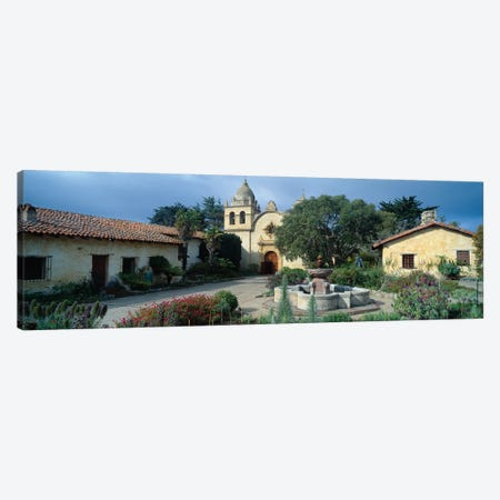 Mission San Carlos Borromeo del rio Carmelo (Carmel Mission), Carmel-by-the-Sea, Monterey County, California, USA Canvas Print #PIM14125} by Panoramic Images Canvas Print