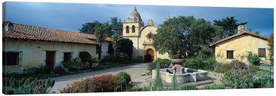 Mission San Carlos Borromeo del rio Carmelo (Carmel Mission), Carmel-by-the-Sea, Monterey County, California, USA Canvas Print #PIM14125