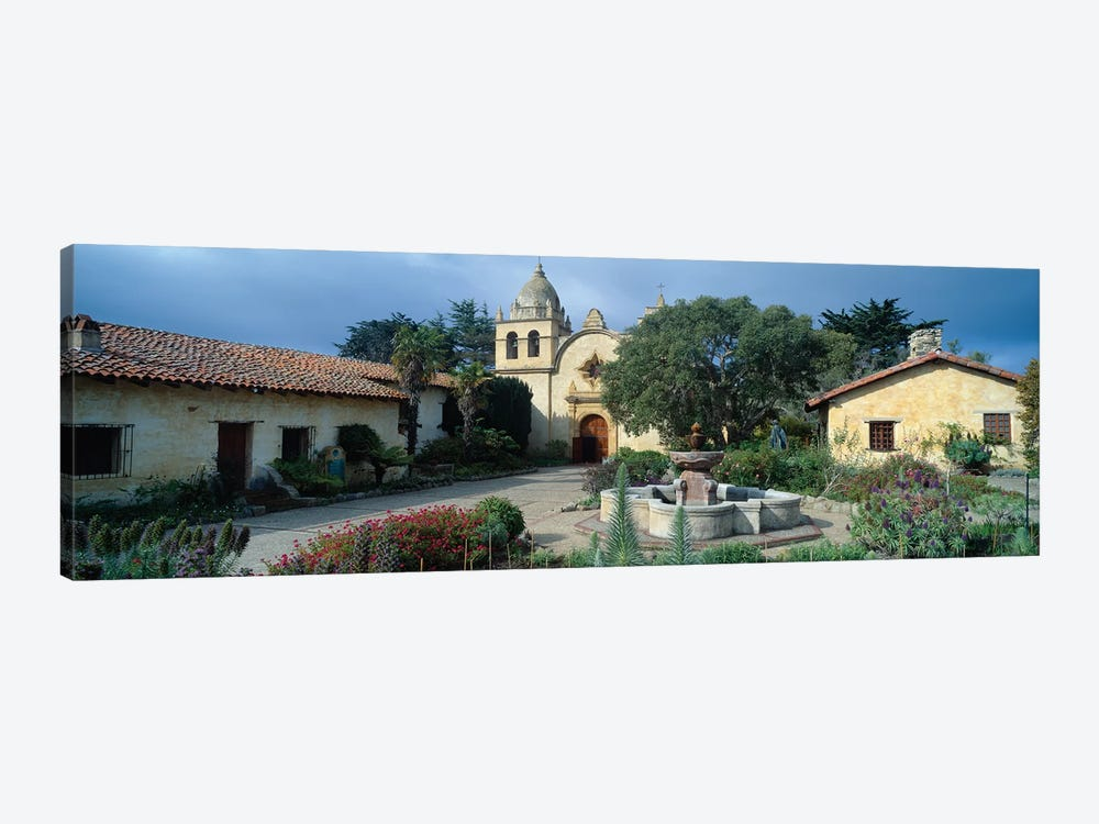 Mission San Carlos Borromeo del rio Carmelo (Carmel Mission), Carmel-by-the-Sea, Monterey County, California, USA by Panoramic Images 1-piece Canvas Wall Art