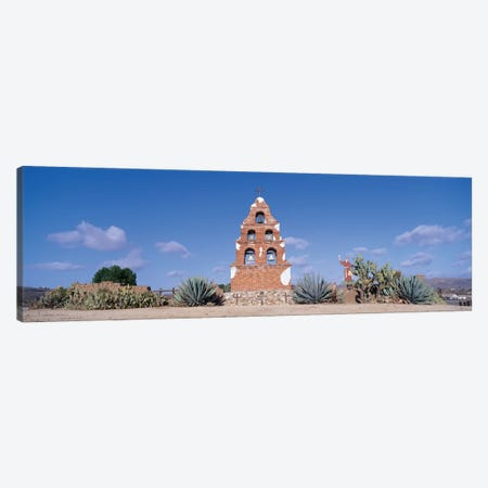 Mission San Miguel Arcangel, San Miguel, San Luis Obispo County, California, USA Canvas Print #PIM14126} by Panoramic Images Canvas Print