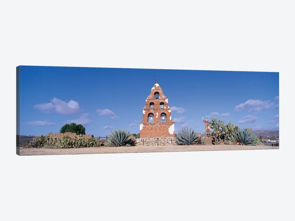 Mission San Miguel Arcangel, San Miguel, San Luis Obispo County, California, USA by Panoramic Images 1-piece Canvas Print