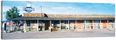 Old Motel, Tonopah, Nye County, Nevada, USA Canvas Print #PIM14128