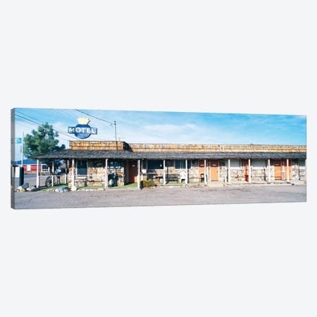 Old Motel, Tonopah, Nye County, Nevada, USA Canvas Print #PIM14128} by Panoramic Images Canvas Wall Art