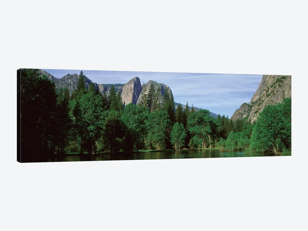 Spring Landscape, Yosemite National Park, California, USA by Panoramic Images 1-piece Canvas Artwork