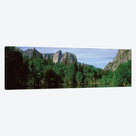 Spring Landscape, Yosemite National Park, California, USA Canvas Print #PIM14130} by Panoramic Images Canvas Art Print