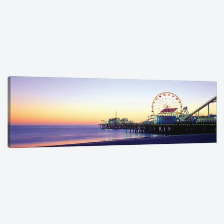 Santa Monica Pier, Santa Monica, Los Angeles County, California, USA Canvas Print #PIM14132} by Panoramic Images Canvas Art Print