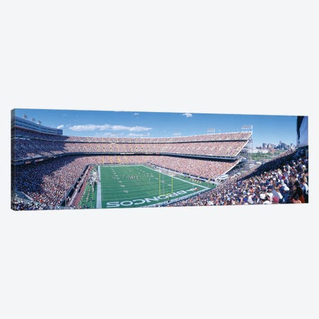 Aerial View I, Mile High Stadium, Denver, Denver County, Colorado, USA Canvas Print #PIM14133} by Panoramic Images Canvas Art Print