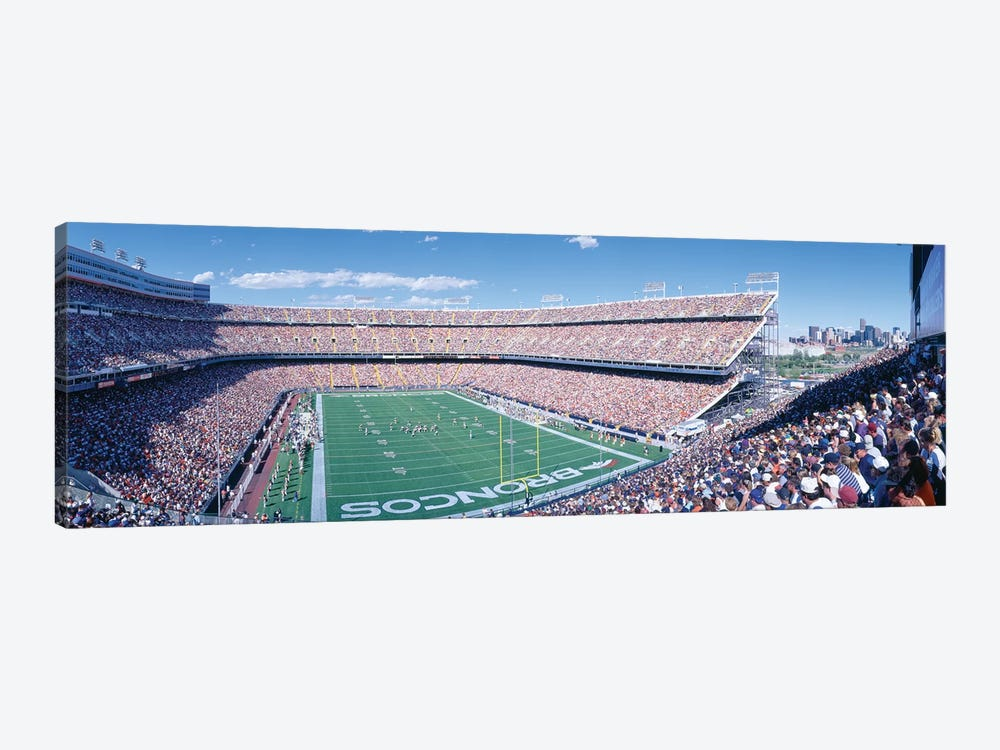 Aerial View I, Mile High Stadium, Denver, Denver County, Colorado, USA 1-piece Canvas Art Print