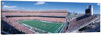 Aerial View II, Mile High Stadium, Denver, Denver County, Colorado, USA Canvas Art Print