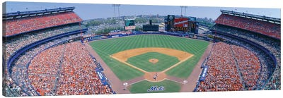 Aerial View I, Shea Stadium, Flushing, Queens, New York City, New York, USA Canvas Art Print