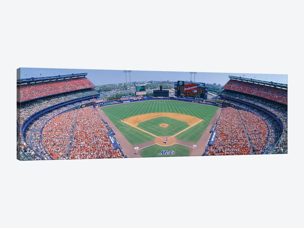 Aerial View I, Shea Stadium, Flushing, Queens, New York City, New York, USA by Panoramic Images 1-piece Canvas Art Print