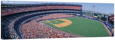 Aerial View II, Shea Stadium, Flushing, Queens, New York City, New York, USA Canvas Print #PIM14136