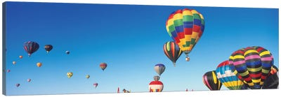 Mass Ascension, 25th Albuquerque International Balloon Fiesta, Albuquerque, Bernalillo County, New Mexico Canvas Art Print