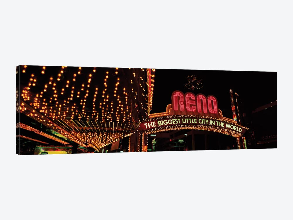 Reno Arch, Reno, Washoe County, Nevada, USA by Panoramic Images 1-piece Canvas Print