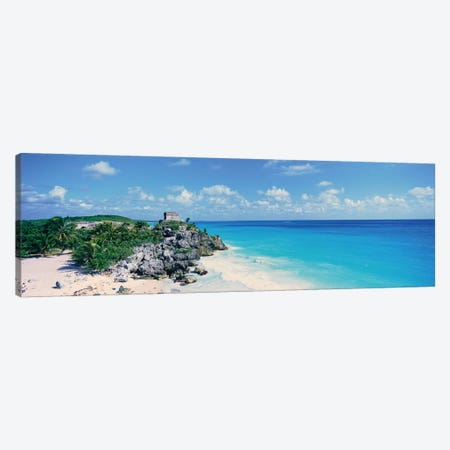 Templo Dios del Viento (God Of Winds Temple), Tulum, Quintana Roo, Yucatan Peninsula, Mexico Canvas Print #PIM14142} by Panoramic Images Canvas Artwork
