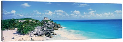 Templo Dios del Viento (God Of Winds Temple), Tulum, Quintana Roo, Yucatan Peninsula, Mexico Canvas Art Print